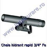 Stut, cheie hidrant rapid 3/4'' Fe
