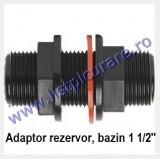 Adaptor rezervor irigatii 1 1/2''