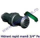 "Cupla, hidrant rapid mama 3/4"" Fe"