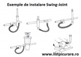 Legatura flexibila(Swing joint) 1/2'' - 1/2'' Fe
