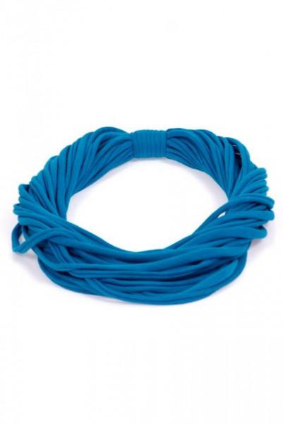 Colier esarfa albastru