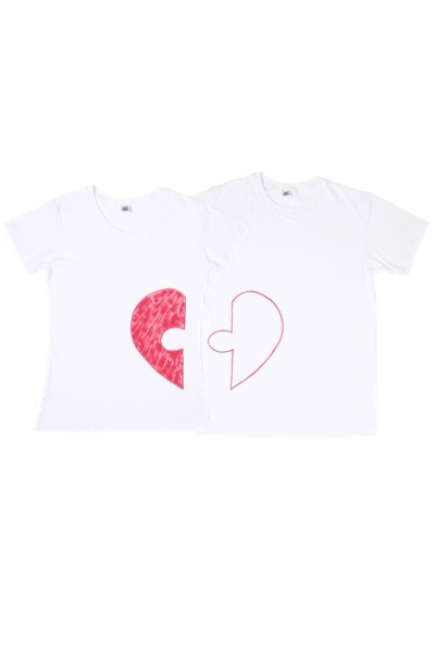 Poze Tricouri pentru cuplu HEART