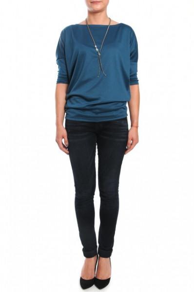 Bluza casual blue
