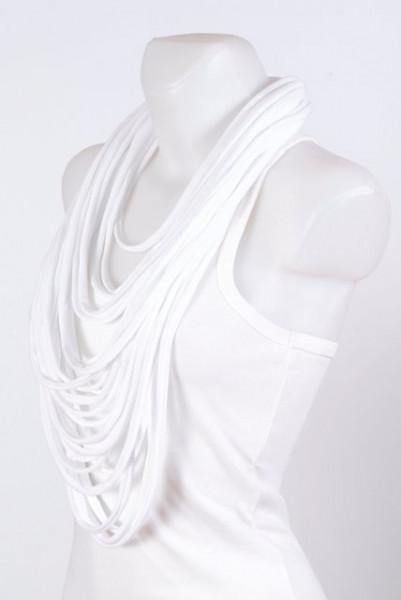 Colier esarfa cool white