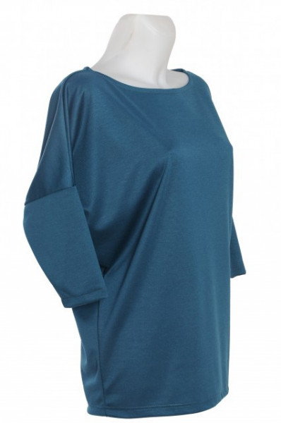 Bluza casual blue