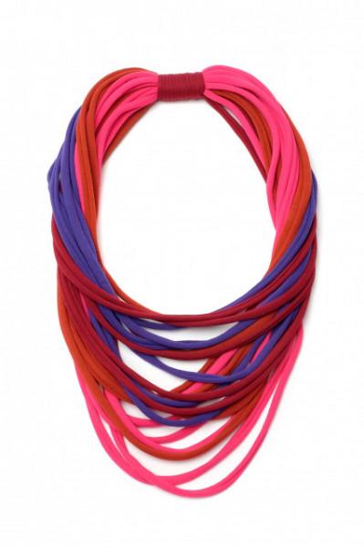 Colier esarfa in patru culori