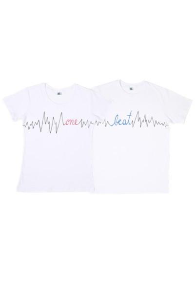 Poze Tricouri pentru cuplu ONE BEAT