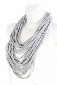 Colier esarfa cool grey