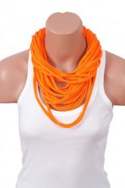 Colier esarfa portocaliu