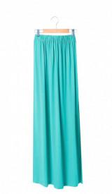 Fusta lunga turquoise
