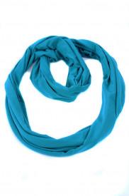 Esarfa Infinity turquoise intens