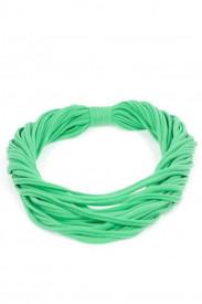 Colier esarfa fresh green
