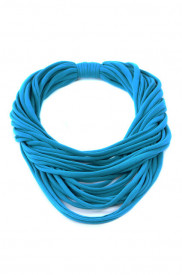Colier esarfa turquoise intens