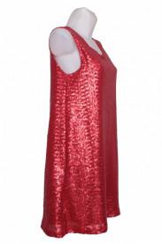 Rochie din paiete rosii