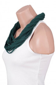 Colier esarfa forest green