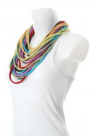 Colier esarfa light rainbow