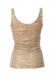 Top din paiete - alege culoarea: auriu, argintiu, rosu sau nude