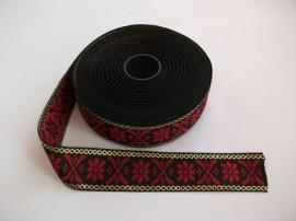 Banda tesuta Milka lurex Agnes - 25 mm