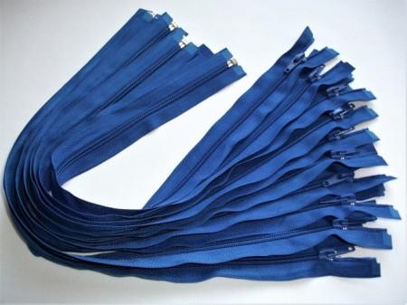 Fermoare detasabile #5 nylon 50,60,70,75,80,90 albastru