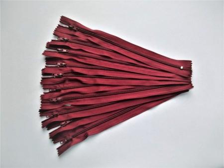 Fermoare fusta #3 - 20 cm visiniu