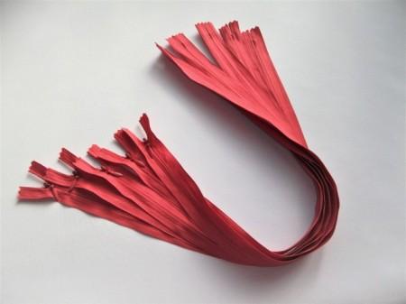 Fermoare invizibile 50 cm rosu coray, cod159