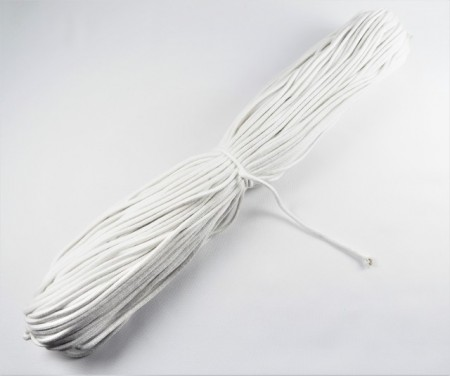 Snur jaluzele 3.5 mm - alb