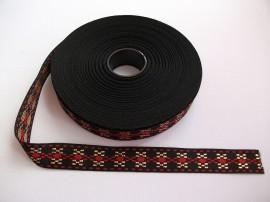 Banda tesuta Milka lurex Mari - 20 mm