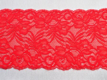 Dantela elastica rosie 15cm, cod301