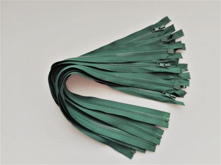 Fermoare detasabile #5 injectate 50,60,70,75,80,90 cm verde brad
