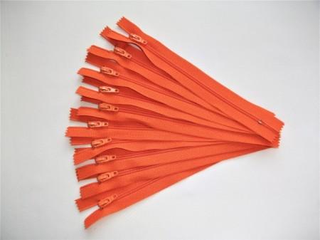 Fermoare nylon #3 - 16 cm portocaliu