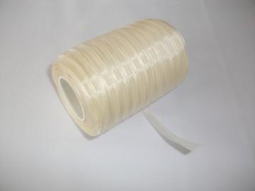 Panglica organza 6 mm - ivoir