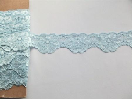 Dantela neelastica bleu 4.5 cm, cod230