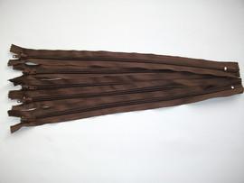 Fermoar fix 20,30,35,40,45 cm maro