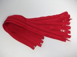 Fermoare detasabile #5 nylon 50,60,70,75,80,90 rosu