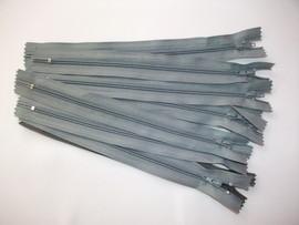 Poze Fermoare fusta #3 - 20 cm gri mediu