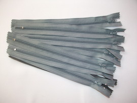 Fermoare fusta #3 - 20 cm gri mediu