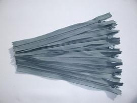 Fermoare invizibile 20 cm gri inchis