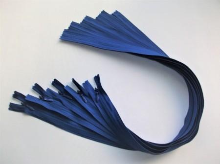 Fermoare invizibile 50 cm albastru, cod223