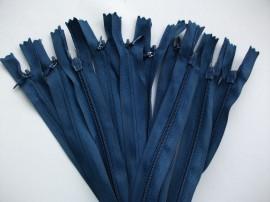 Fermoare invizibile 50 cm bleumarin, cod227