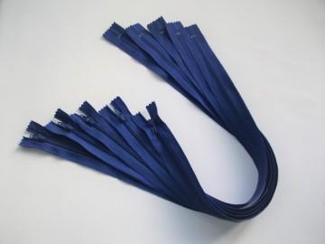 Fermoare lenjerie #3 - 50 cm albastru