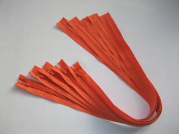 Fermoare lenjerie #3 - 50 cm portocaliu