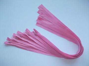 Fermoare lenjerie #3 - 50 cm roz inchis