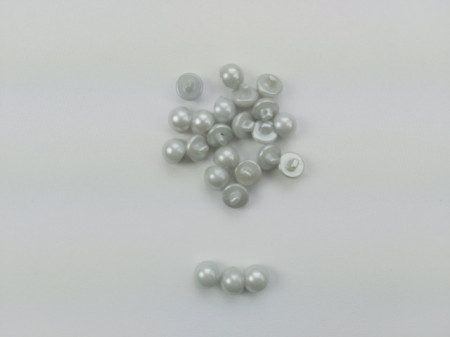 Nasturi perla M16 - gri deschis, cod314