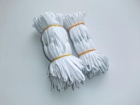 Siret alb pantofi 60, 75, 90 cm