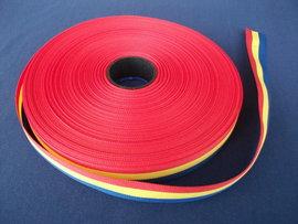 Tricolor 10 mm (rola de 50 m)