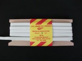 *Elastic Oradea 9 mm alb