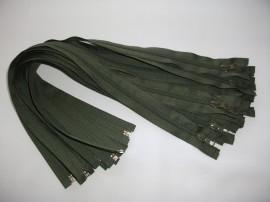 Fermoare detasabile #5 nylon 50,60,70,75,80,90 kaki