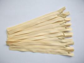 Fermoare invizibile 20 cm galben pal