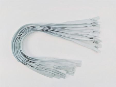 Fermoare invizibile 50 cm gri deschis - cod314
