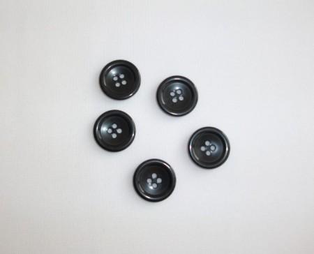 Nasturi sacou negri 20mm (M32)